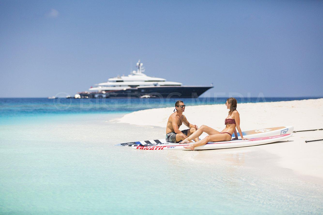 M/Y Nirvana in the Maldives