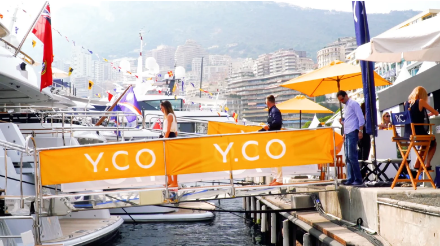 Monaco Yacht Show for Y.CO 2018