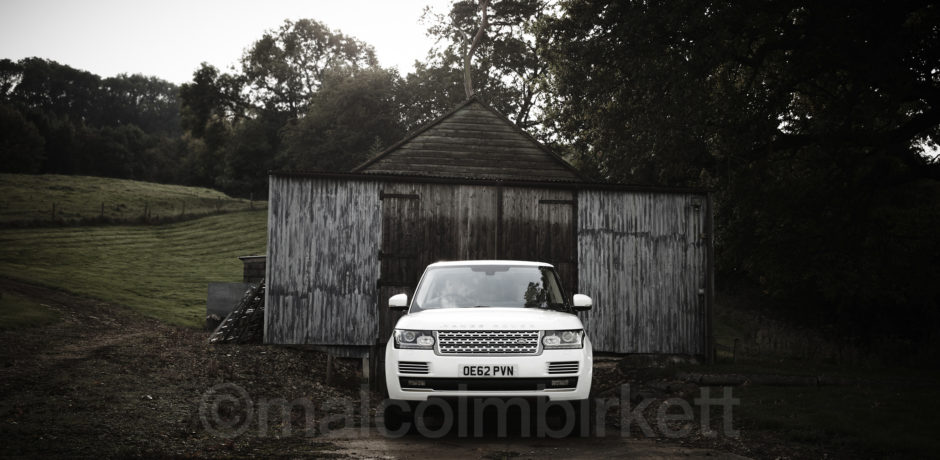 Range Rover in the Cotswolds