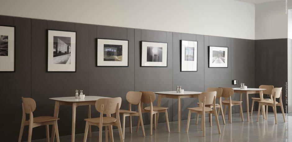 Cafe furniture shoot